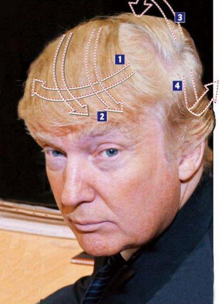 Для модників: секрет зачіски Дональда Трампа