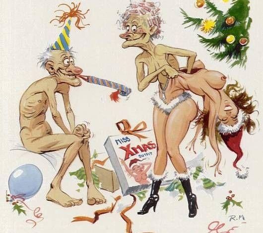 Різдвяний секс-костюм