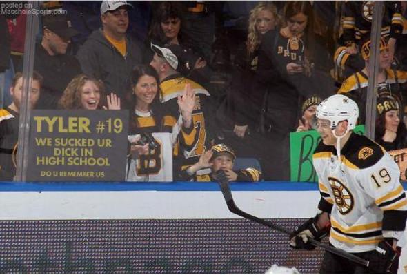 Фото з матчу NHL