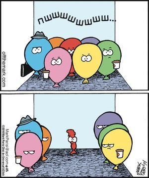 Пук в ліфті. Гумор