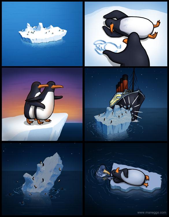 Кіно в пінгвінів