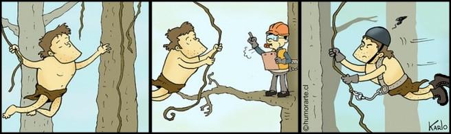 Тарзан і техніка безпеки