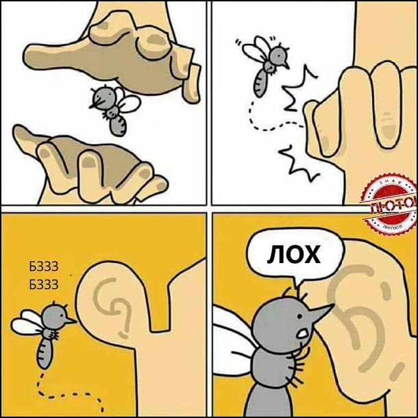 Комікс про комара